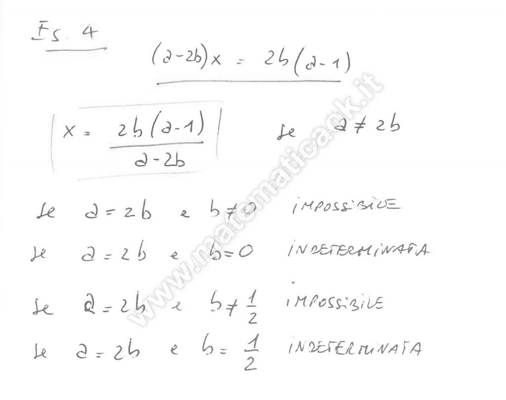 Equazioni letterali