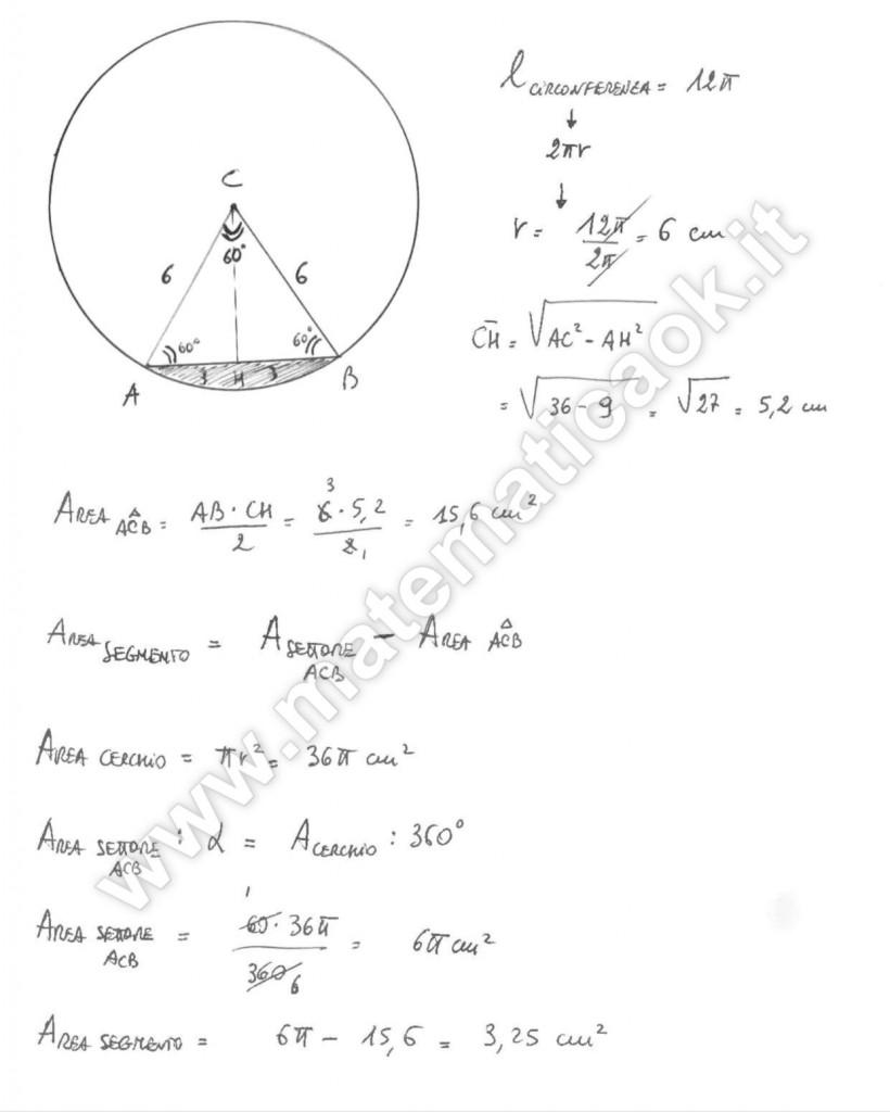 Triangolo e cerchio