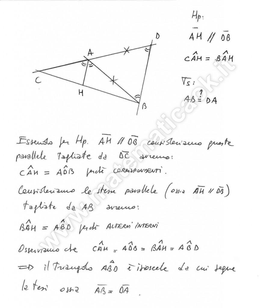 Triangoli qualsiasi - Dimostrazione