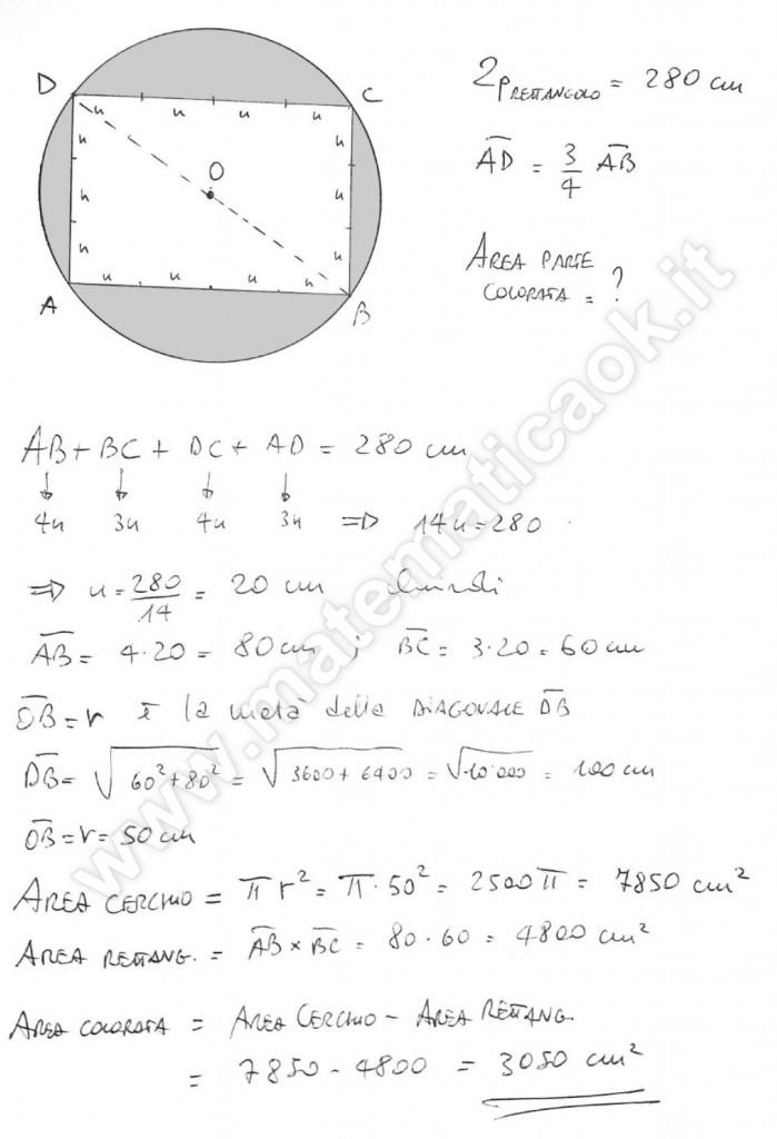 Rettangolo inscritto in un cerchio