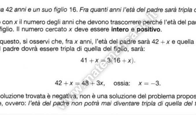 Equazioni di primo grado pagina 2 atematica k for Problemi di primo grado a due incognite esercizi