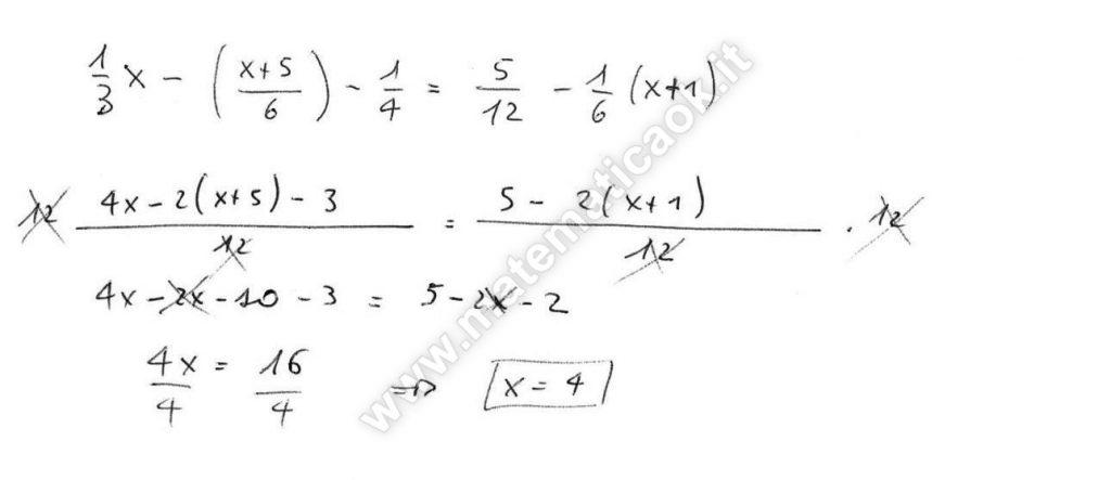 Esercizio 10 equazioni di primo grado atematica k for Problemi di primo grado a due incognite esercizi