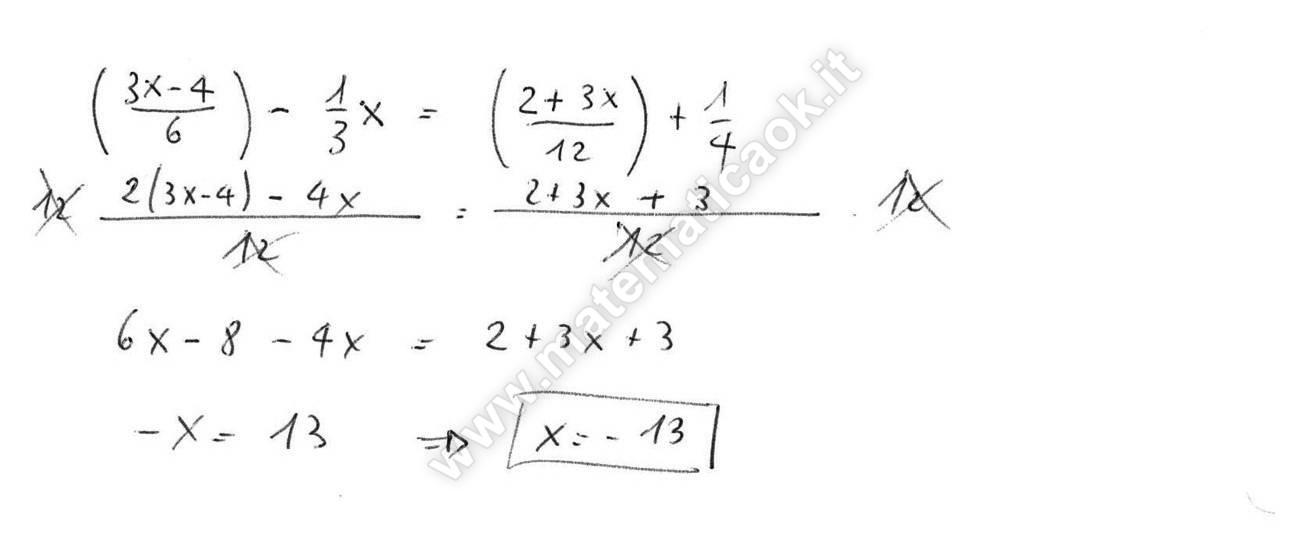 Esercizio 14 equazioni di primo grado atematica k - Tavola di tracciamento secondo grado ...