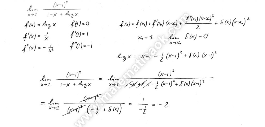 Formula di Taylor con il resto di Peano